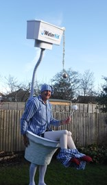 First outing for the toilet!