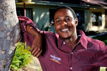 One of the Khayalethu 'graduates'