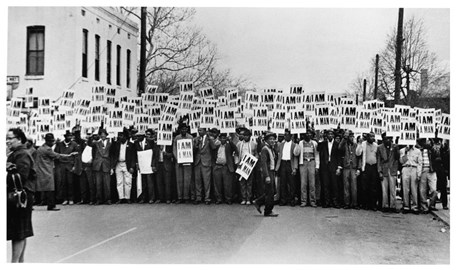 Memphis sanitation workers' strike, 1968 Copyright Ernest C. Withers