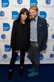 With the delicious Claudia Winkleman at Dimbleby Cancer Care's Quiz last year.