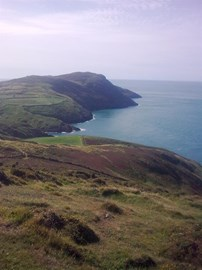 The view from Whistling Sands