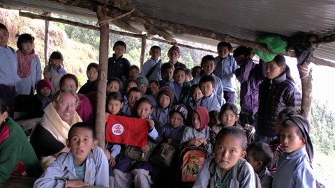 Chhitre school kids
