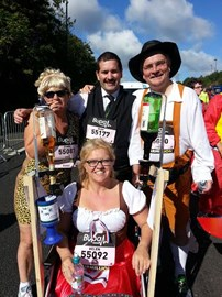 At the start, Donna, Dean, Chris and Helen