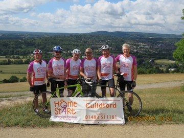 Several of the magnificent seven at Box Hill !!