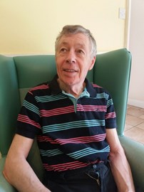 Dad at his care home