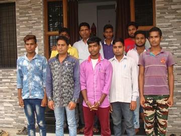 Young men, Aryaloka Computer Centre