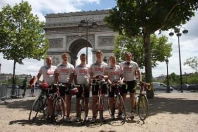 At the Arc de Triomphe