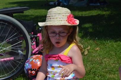 Tillie loves a picnic
