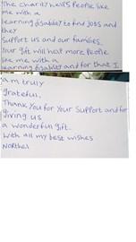 Northel's letter