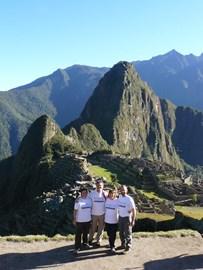 The NAPAC Team at Machu Picchu