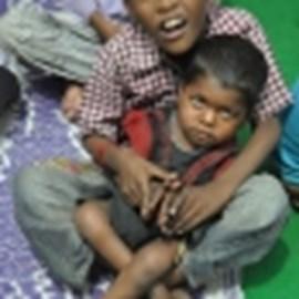 Children at the Chingari Centre