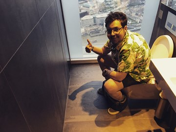 The Loo with a View @ The Shard