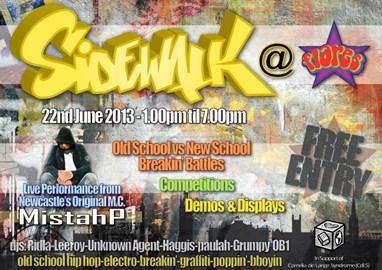 June 22nd 2013 Old School Hip Hop Event
