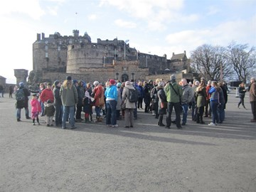 Start of the Wee Walk - Feb 2014