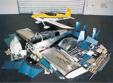 Van's RV7 Experimental Aircraft (photo courtesy of Van's Inc)
