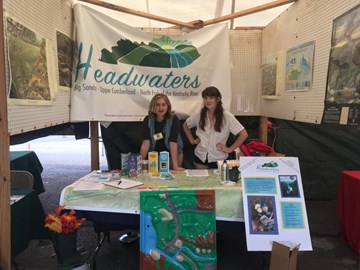 Headwaters staff at the Mountain Heritage Festival