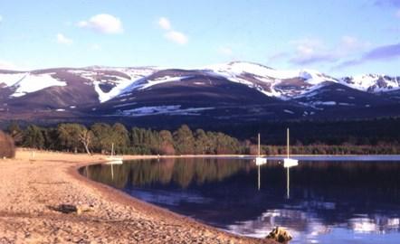 The Beautiful Loch Morlich