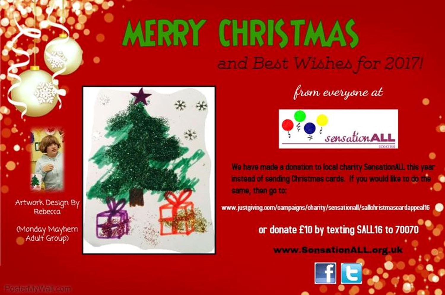 2016 Christmas Card Appeal Justgiving