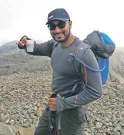 Hiking Across the Alps for the British Red Cross
