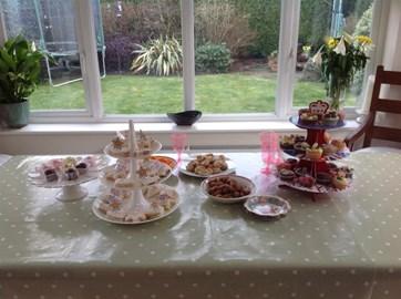 Rose's tea party