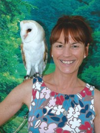 Beth and Twinkle the owl,Deansbrook Infant School,Mill Hill, London June 2013
