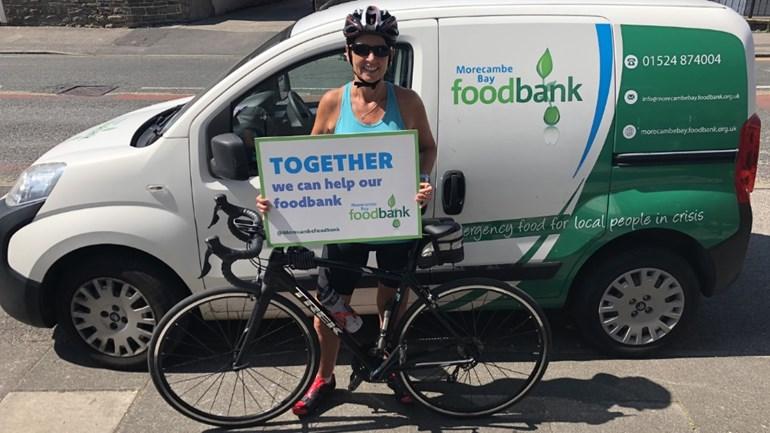 Jeanie Starkie Is Fundraising For Morecambe Bay Foodbank
