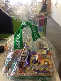 Well done Sarah & Becky for running an Easter Hamper raffle and raising over £400 towards our total :-)