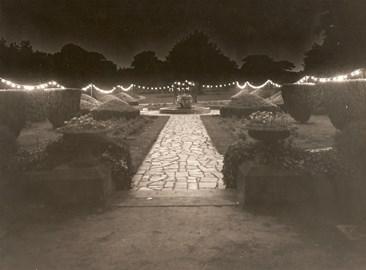 Fountain garden 1952