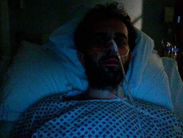 Jon Marc, Royal Infirmary, March 2011