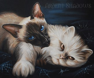 2015 Cat Protection Painting