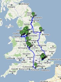 This is a map of the route!!!