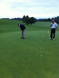 The start of todays Golf Challenge!