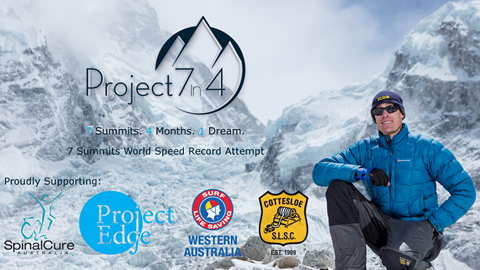 Project 7in4 - Proudly Supporting SpnalCure and Surf Life Saving