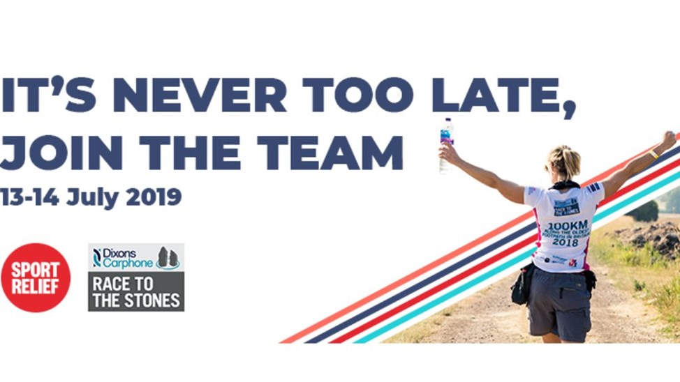Dixons Carphone Race to the Stones 2019 - JustGiving