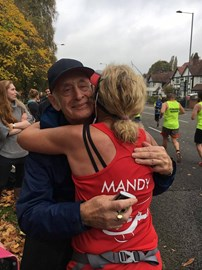 best hug ever from my dad xx