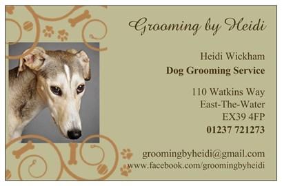 Grooming by Heidi