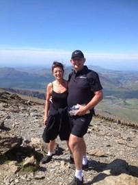 Top Of Snowdon !