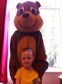 Benny Bear. Officially endorsed by Harrison :-)