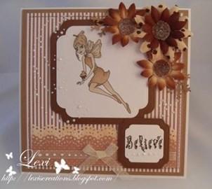 A gorgeous card made using Butterscotch