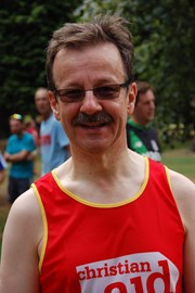 and me in my Christian Aid running top!