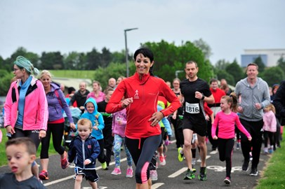 Calling all runners. joggers, walkers.  Still time to sign up!