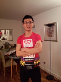 Running for the ChinaNext Foundation!