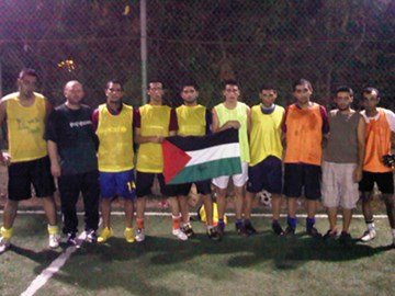 TeamPalestine Rio 2010Homeless World Cup