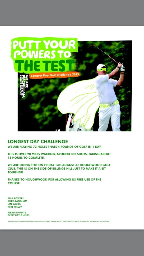 Paul Bowers is fundraising for Macmillan Cancer Support