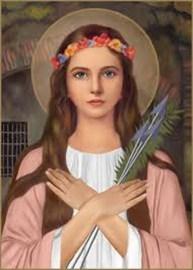St Philomena Pray for Us!