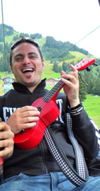 Rocking out the Ukulele in Switzerland!