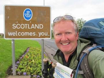 Crossing the border - Scotland 29.06.11