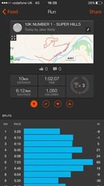 First 10km Done!